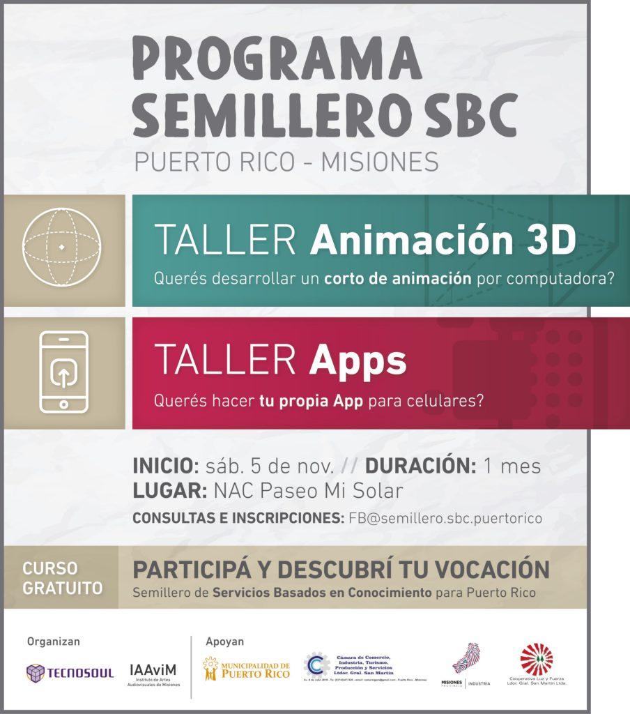 Talleres animacion y apps - Semillero SB